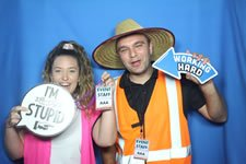 Work Parties - Photo Booth Hire