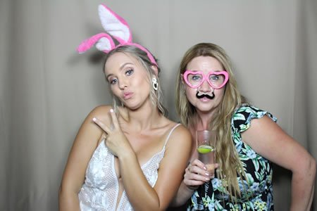 Fawn Backdrop - Premium Enclosed Photo Booth Hire