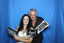 Wedding Photo Booth Fun with Jodi and Dean - Photo Booth Hire