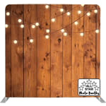 Wood Wall Backdrop will give you that Rustic look, for our open style party photo booth.