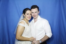 Wedding Photo Booth Maddy and Reid Novotel Twin Waters - Lily's on the Lagoon