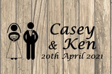 Casey and Ken Wedding Photo Booth 20-04-2021