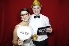 Sarah and Mitch Wedding Photo Booth RACV Royal Pines Resort