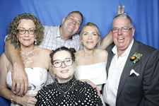 Angela and Ross Wedding Photo Booth North Lakes Hotel