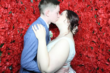 Alexis and Andrew Noosa Springs Wedding Photo Booth