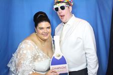 Prue and Anthony Wedding Photo Booth Treasury Casino Brisbane