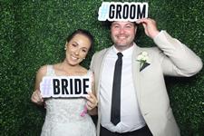 Kristy and Jacob Glengariff Wedding Photo Booth