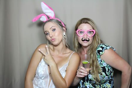 Fawn Background - Photo Booth Hire