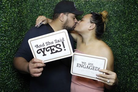 She said YES! - Photo Booth Hire