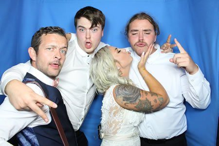 That's not the groom! - Photo Booth Hire