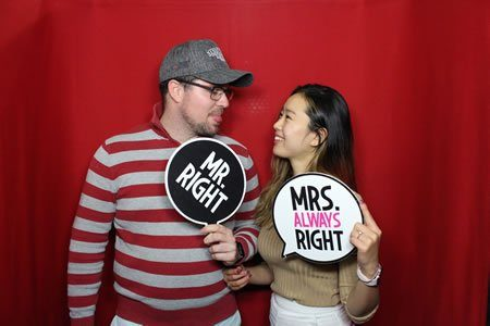 Tell him he is dreaming. - Photo Booth Hire