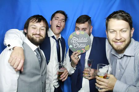 Fun with the boys. - Photo Booth Hire