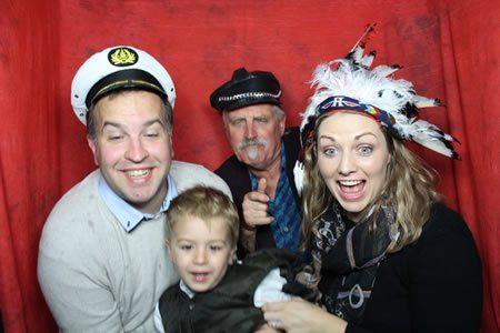 Fun for all ages. - Photo Booth Hire