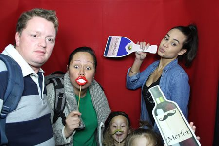 Family Time - Photo Booth Hire