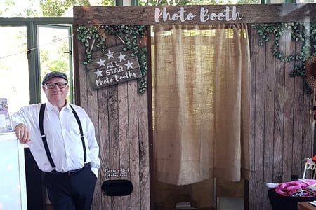Rustic Style Premium Photo Booth hire- Photo Booth Hire